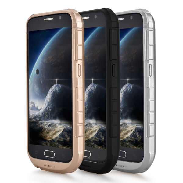 Protective 2A Rapid Charge, 4200mAh External Battery Case for Samsung Galaxy S6