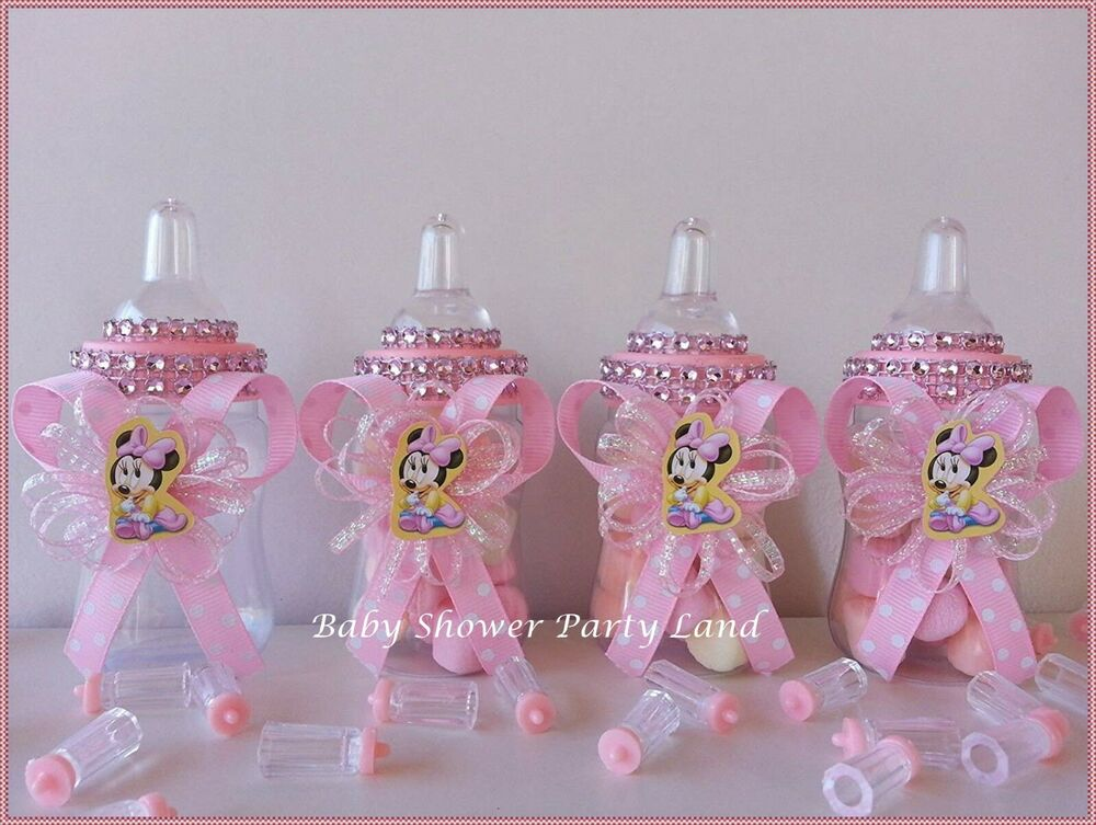 12 minnie mouse fillable bottles favors prizes games baby for All decoration games for girls