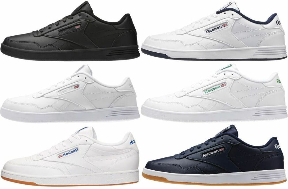 reebok club c memt mens classic shoe sneaker ebay. Black Bedroom Furniture Sets. Home Design Ideas