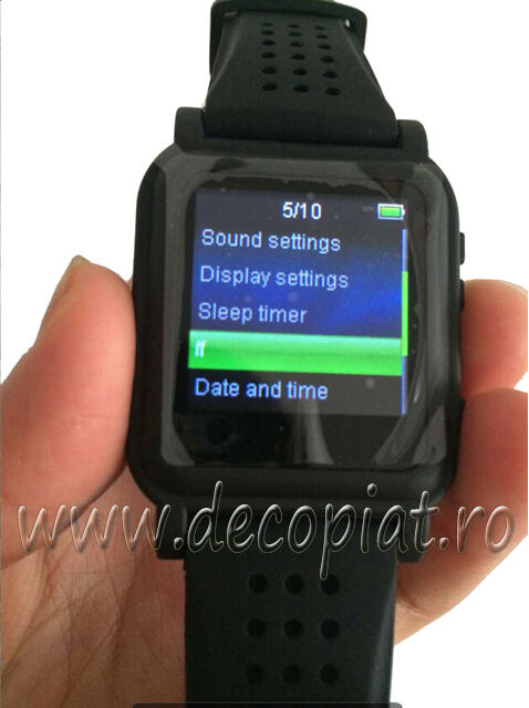 mp4 watch with text reader mp3 music video player 4gb. Black Bedroom Furniture Sets. Home Design Ideas