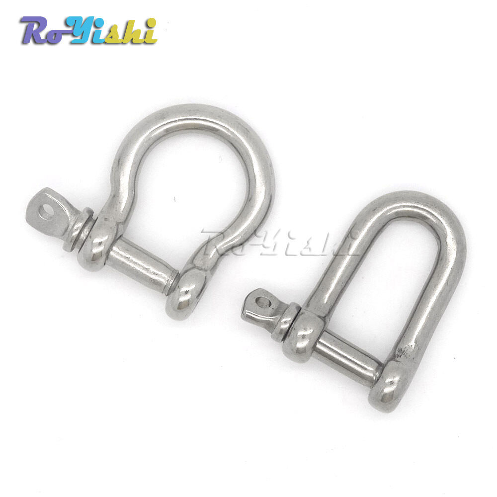 Stainless Steel U D Anchor Shackle Screw Pin For Paracord