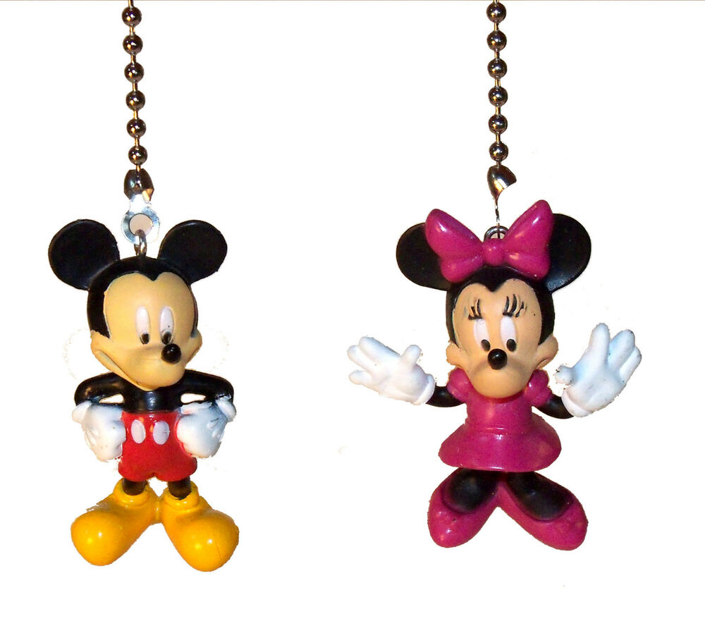 Mickey Mouse Minnie Mouse Amp Friends Ceiling Fan Light Pull