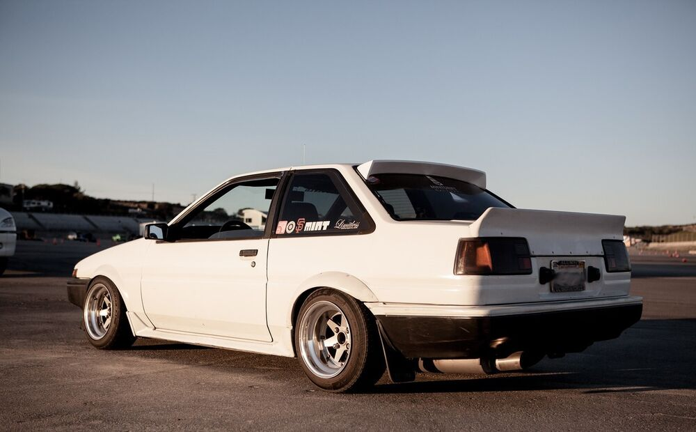 Ae86 Coupe Fineline Bunny Wing Ebay