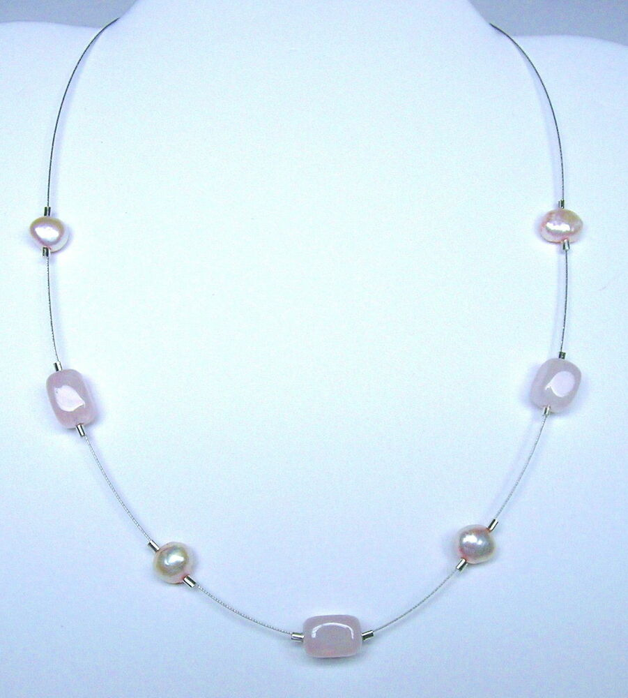 Silpada Sterling Silver Pink Pearl Amp Rose Quartz Necklace