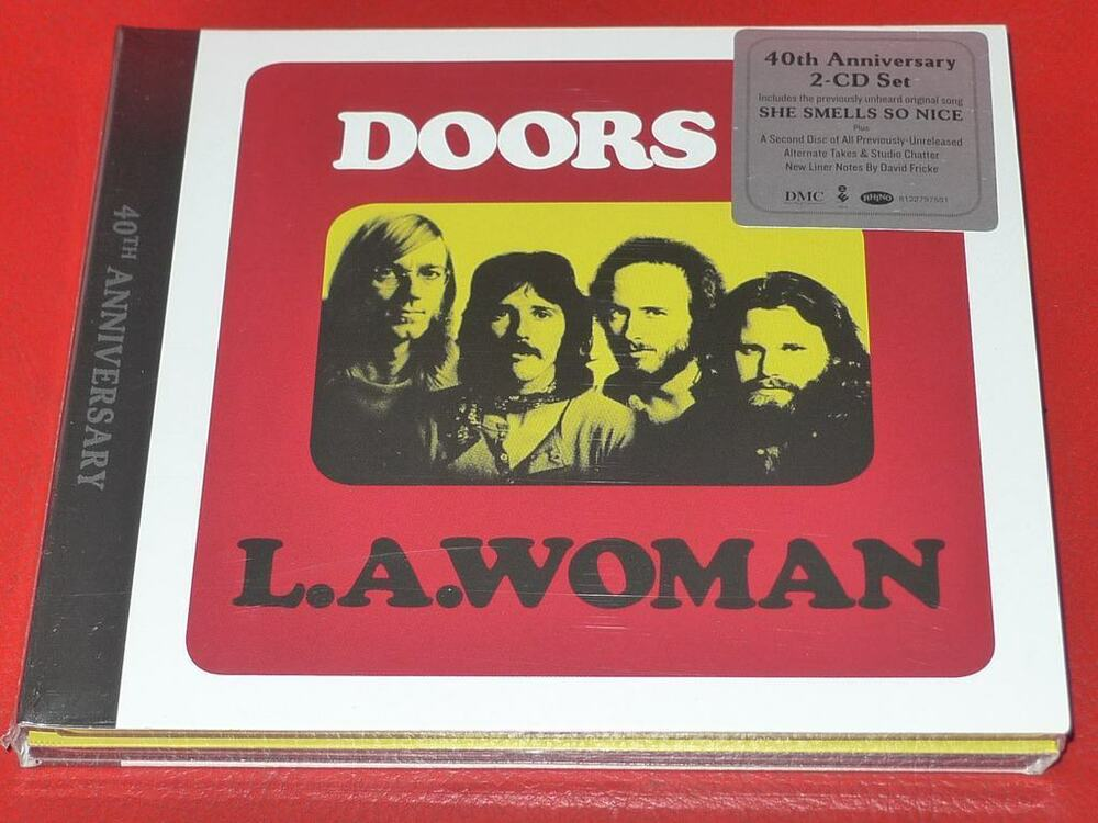 DOORS - LA WOMAN : 40TH ANNIVERSARY (2CD SET) by The Doors ...