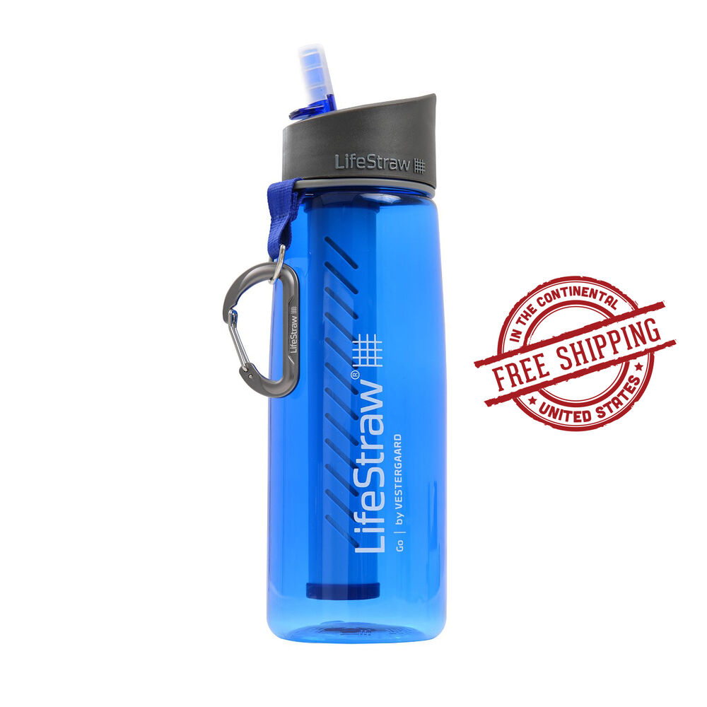 Lifestraw water filter bottle go purifier personal for Kit filtration