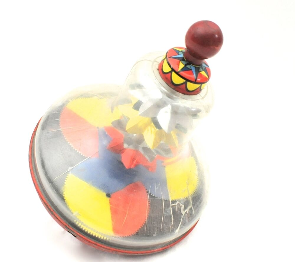 Retro Top Toys : Vintage j chein spinning top toy ebay