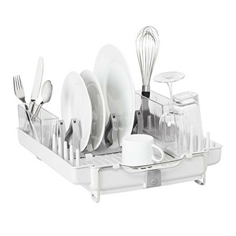 The Sabatier Premium Kitchen Dish Rack With Drying Tray