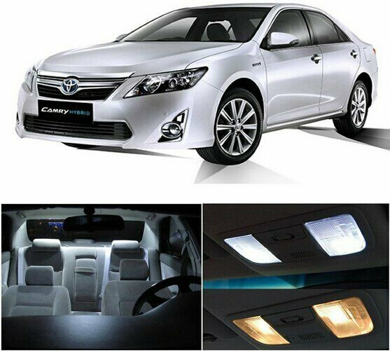2016 Toyota Camry Pictures: 14pcs LED White Lights Interior License Package Kit For