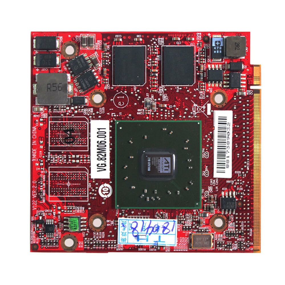 ATI Mobility Radeon HD3470 DDR2 256M Graphics Card For