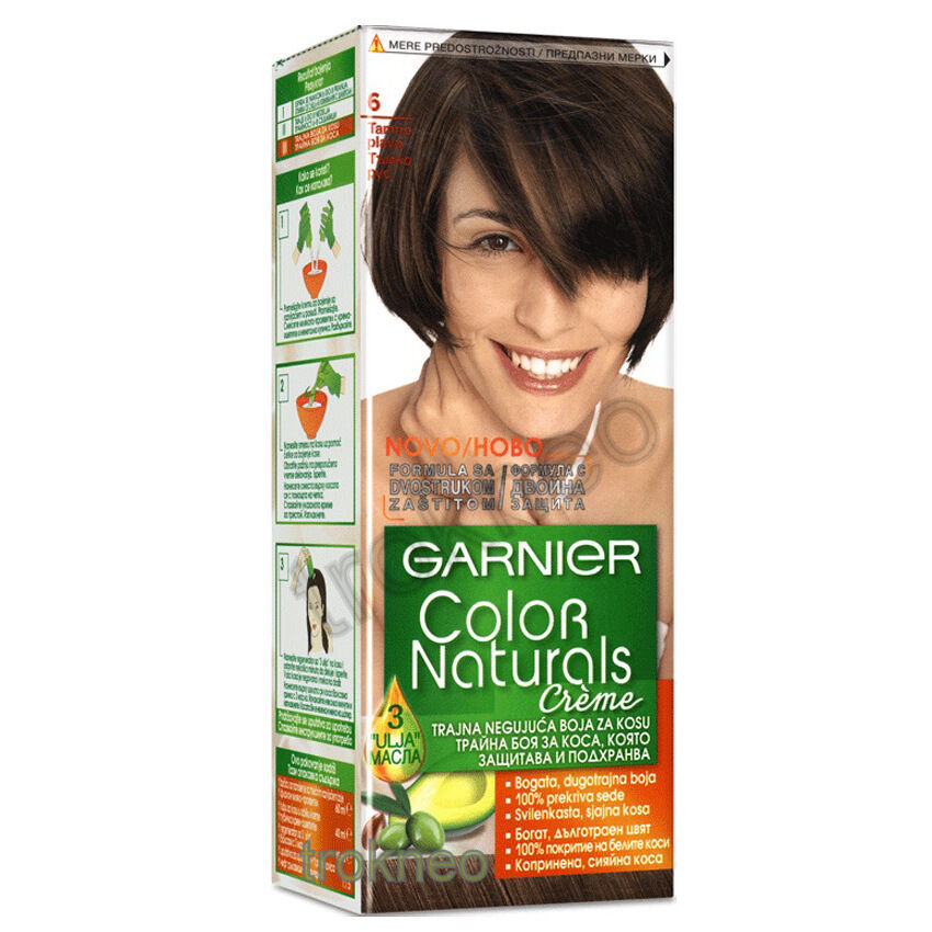 Garnier Color Naturals 6 Light Brown Color Hair  EBay