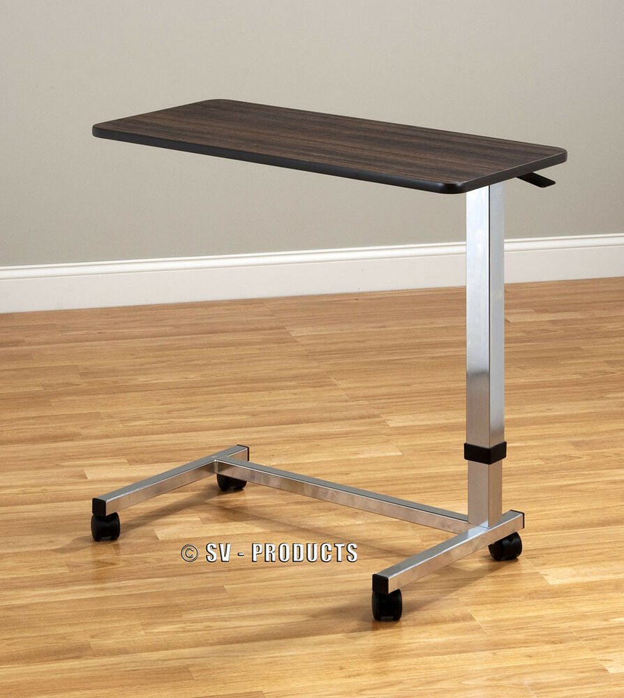Adjustable Medical Bedside Over Bed Side Table 216 Ebay
