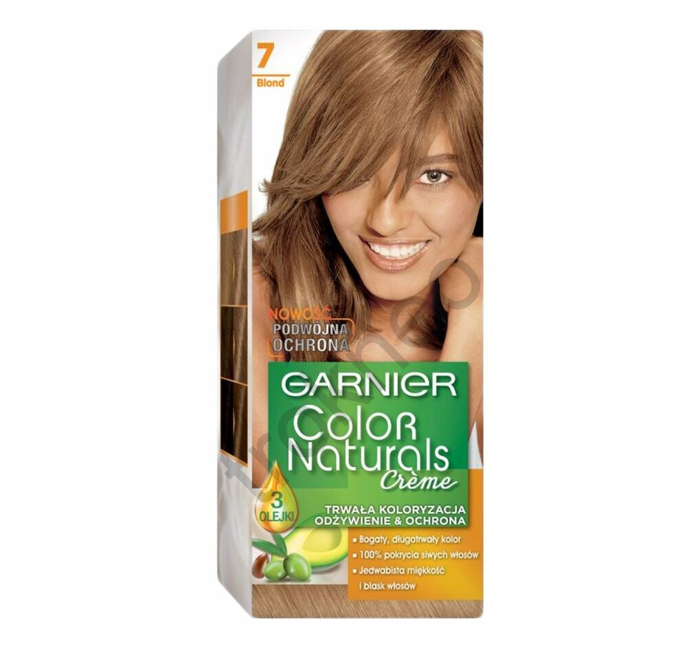 Garnier Color Naturals 7 Blond Color Hair Ebay