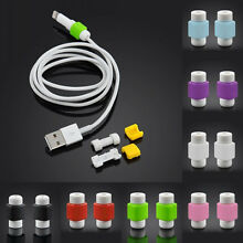 USB Cable Saver for Apple iPhone 5 5s 6 6s 6 Plus (10 Colors to Choose from)