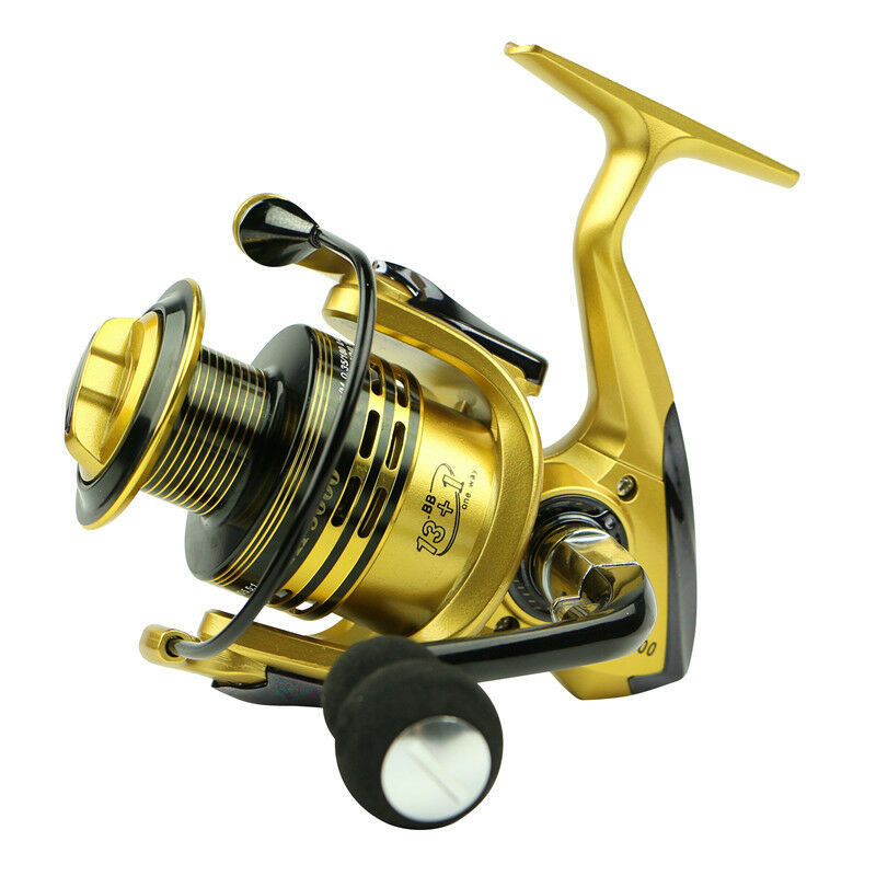 14bb ball bearing rightleft handed saltwater freshwater for Freshwater fishing reels