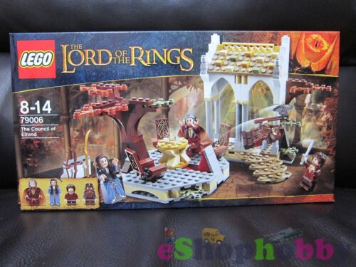 LEGO THE LORD OF THE RINGS #79006 The Council of Elrond Set 243pcs NEW IN BOX!
