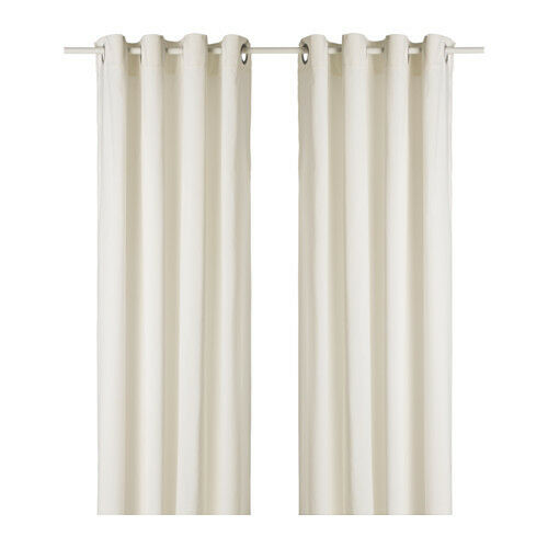 Ikea Sanela Curtains 1 Pair White 55 X 118 Quot 100 Cotton 2
