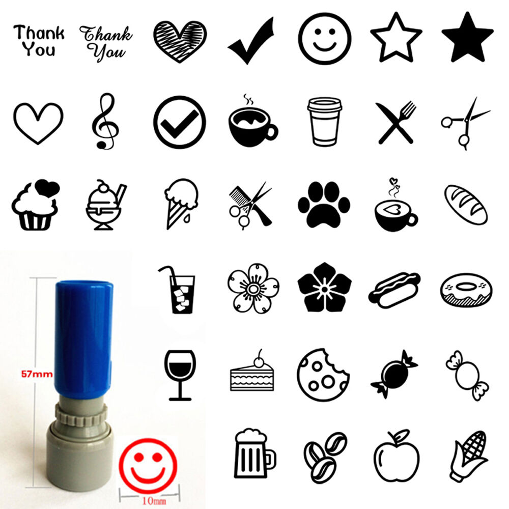 Loyalty card Self inking Rubber Stamp for business SHOP ...