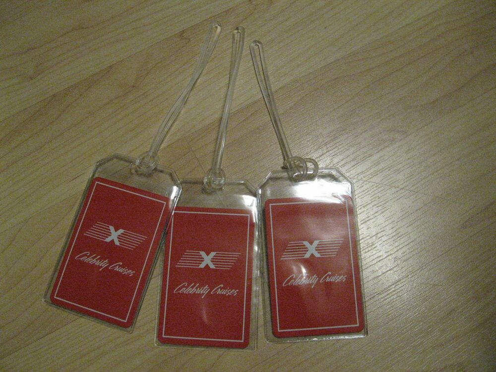 Luggage Tags: Celebrity Cruises Luggage Tags
