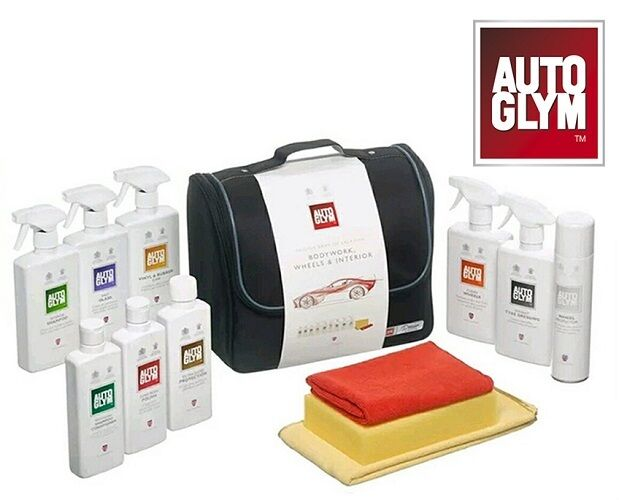 autoglym perfect bodywork wheels interior collection kit car care cleaning set ebay. Black Bedroom Furniture Sets. Home Design Ideas
