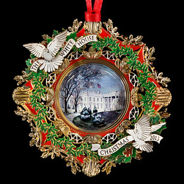 The White House Historical Association Ornament Woodrow