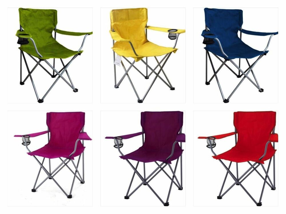 Portable Folding Outdoor Chair Camping Seat Picnic Beach