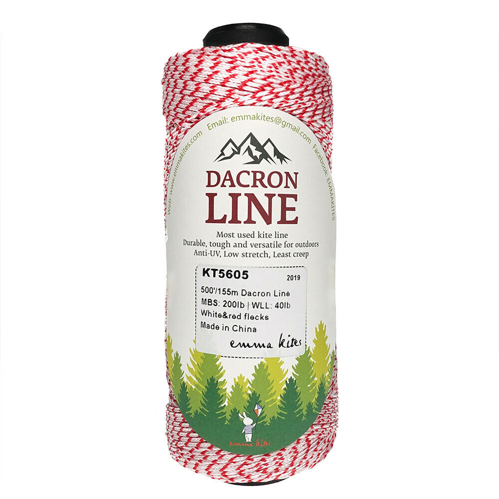 1000ft braided dacron kite string backing mason line for Dacron fishing line