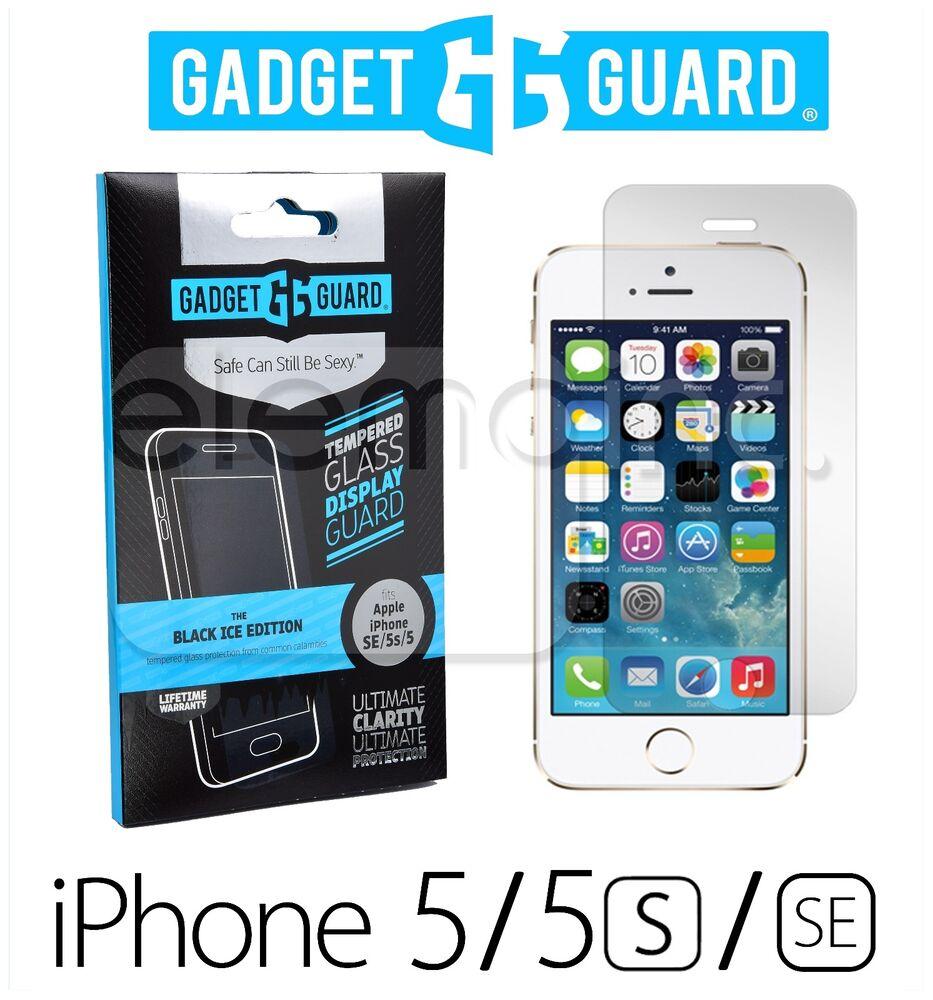 iphone 5c ebay gadget guard black tempered glass screen protector for 11097