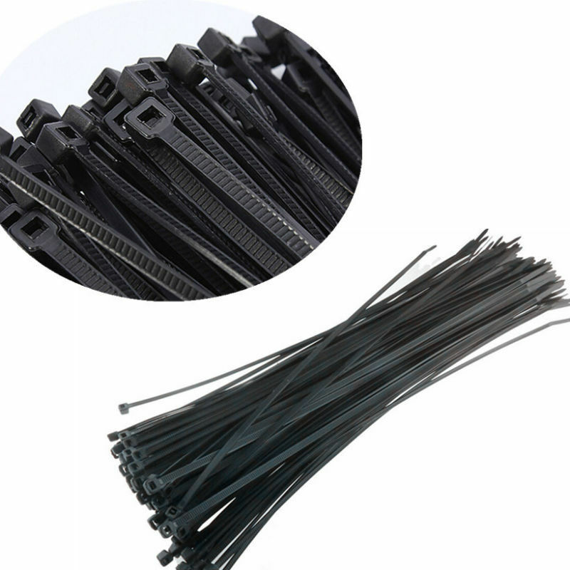 100pcs black 3x100mm network nylon plastic cable wire zip Engine Wiring Harness Ford Wiring Harness Kits