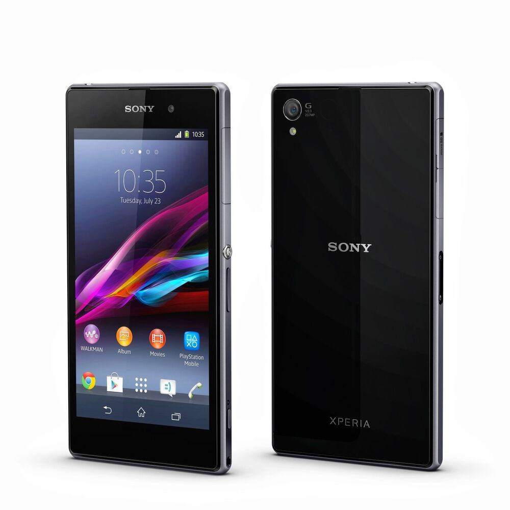 sony ericsson xperia z1 5 16gb unlocked 3g 4g android smartphone c6903 black 7311271434948 ebay. Black Bedroom Furniture Sets. Home Design Ideas