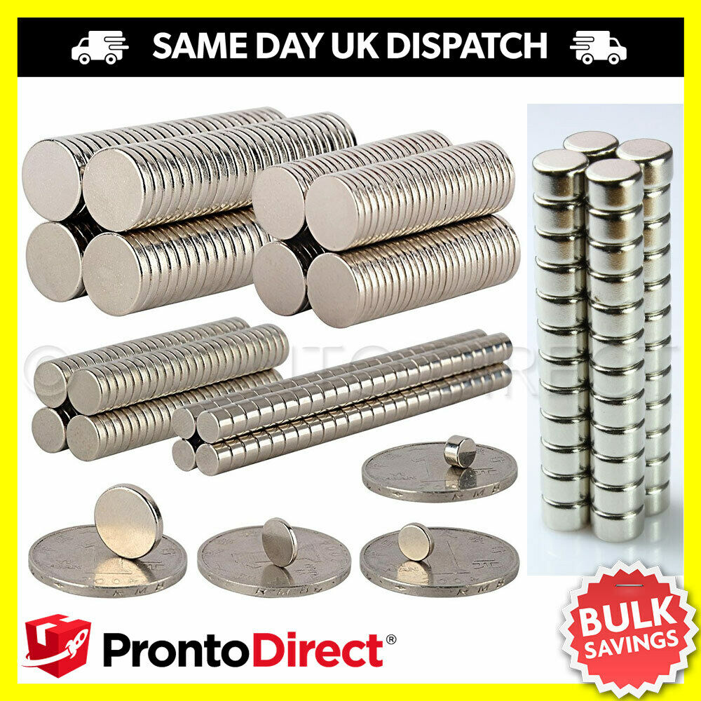 Neodymium magnets n35 super strong disc rare earth craft for Where to buy magnets for crafts