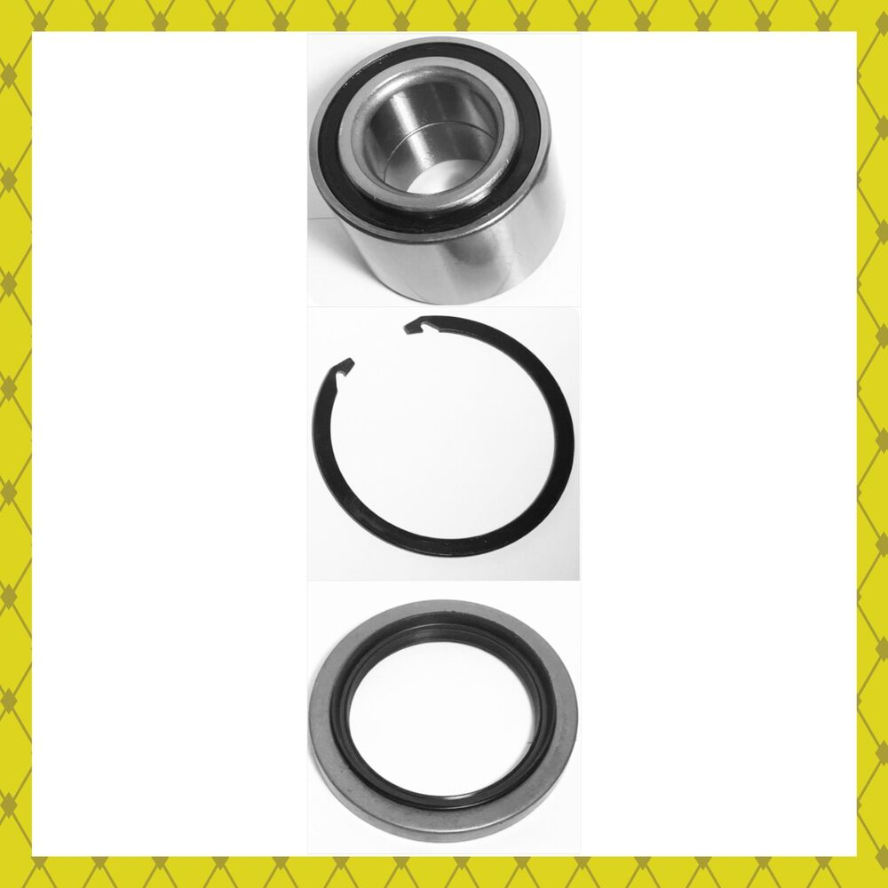 Front Wheel Hub Bearing Amp 1seal W Snap Ring Toyota Tundra