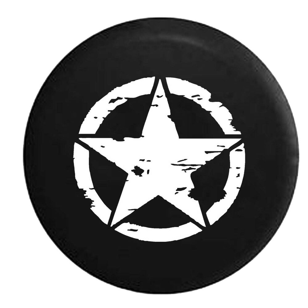 Oscar Mike On Mission Vintage Star Spare Tire Cover Oem