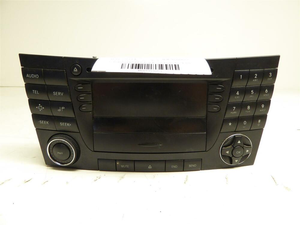 2003 mercedes benz e320 gps nav navigation dvd player. Black Bedroom Furniture Sets. Home Design Ideas