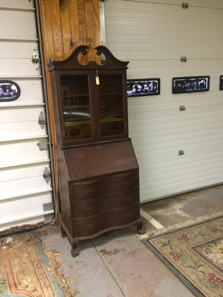 Reduced Victorian Style Original Wood Drop Lid