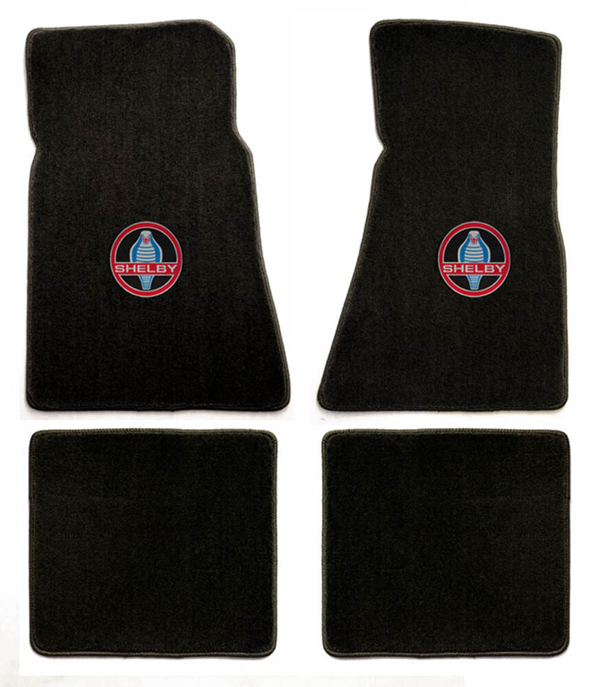New 1964 1973 ford mustang shelby gt350 black floor mats for 1965 ford mustang floor mats