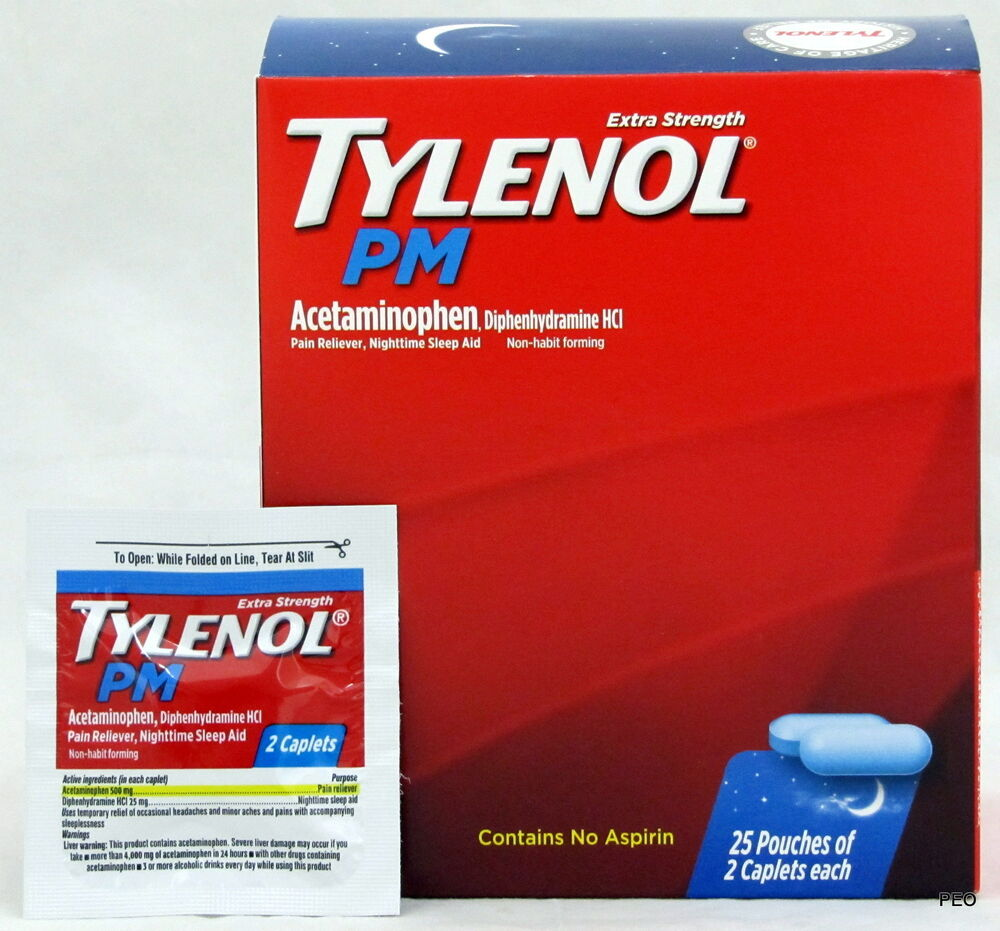 ambien and tylenol pm