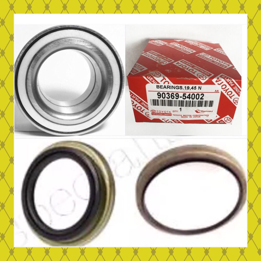 Front Wheel Hub Bearing Amp 2seal For Toyota Tundra 2000