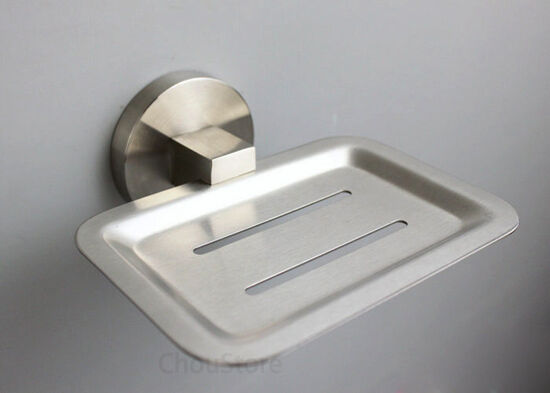 Grade 304 Stainless Steel Brushed Bathroom Wall Mounted