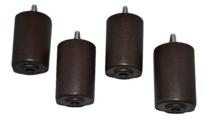 Recliner Handles Replacement Furniture Legs 3 Inches Set Of 4 Plastic Brown Ebay