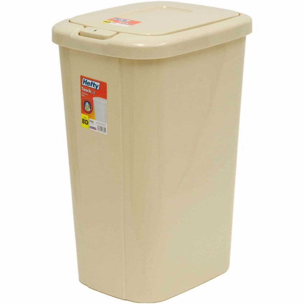 Kitchen Trash Can Garbage Bin Receptacles Container Touch