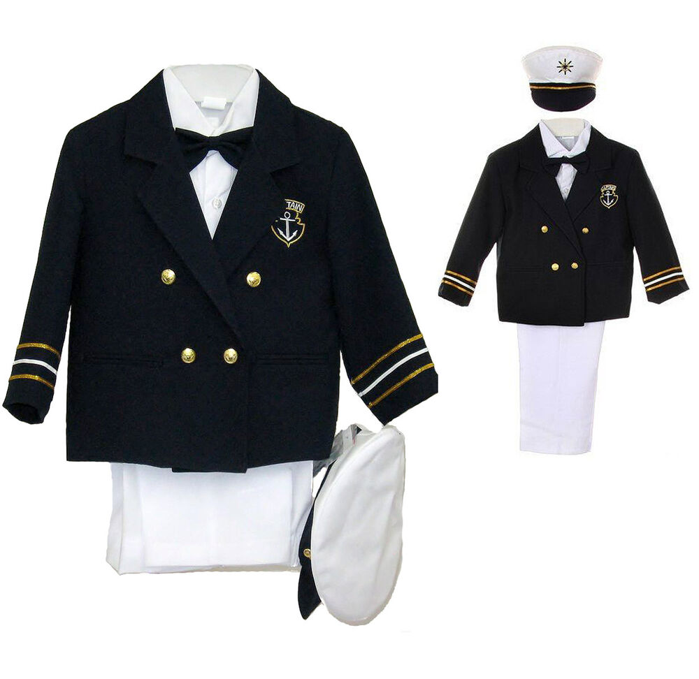 New Baby Boy & Toddler Easter Formal Party Sailor Suit ...