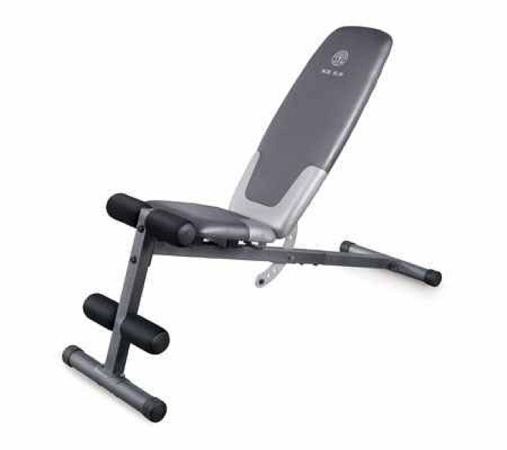 golds gym utility bench exercise weight lifting workout ebay