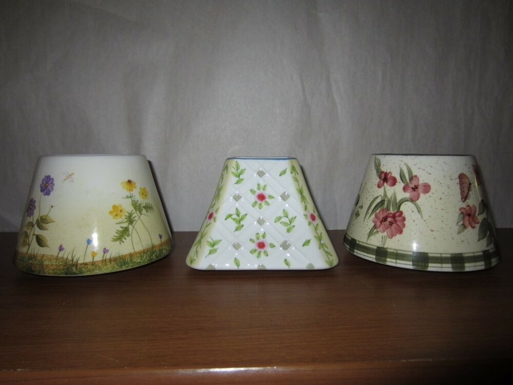 home interiors candles home interiors ceramic candle shades ebay 12303