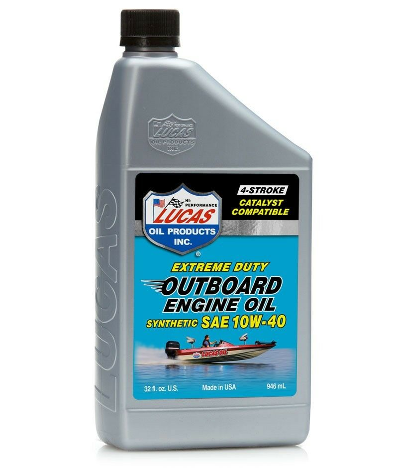 Lucas marine syn 10w 40 4 stroke outboard engine oil fc 4 for How is motor oil made