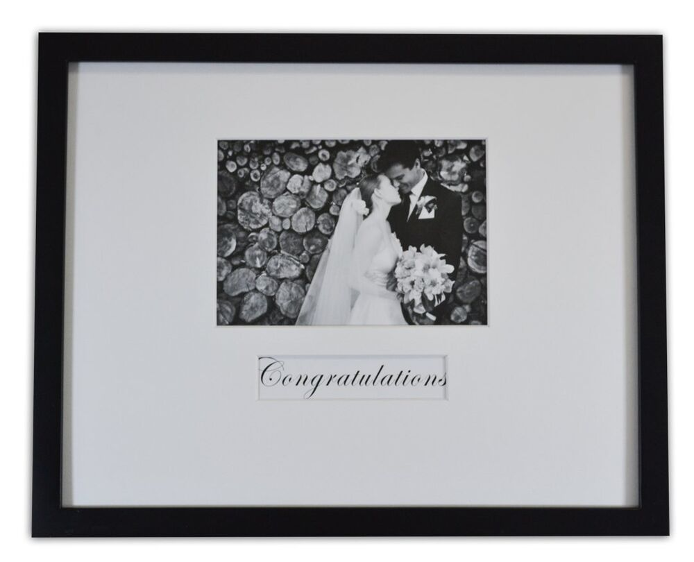 11x14 Wedding Wood Wall Frame For 5x7 Picture With