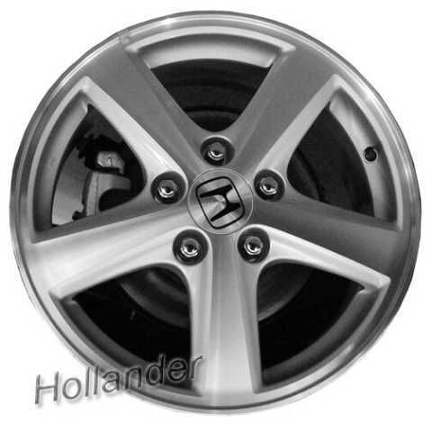 03 04 05 Honda Accord Wheel 16x6 5 Oem Alloy 5 Spoke Hol