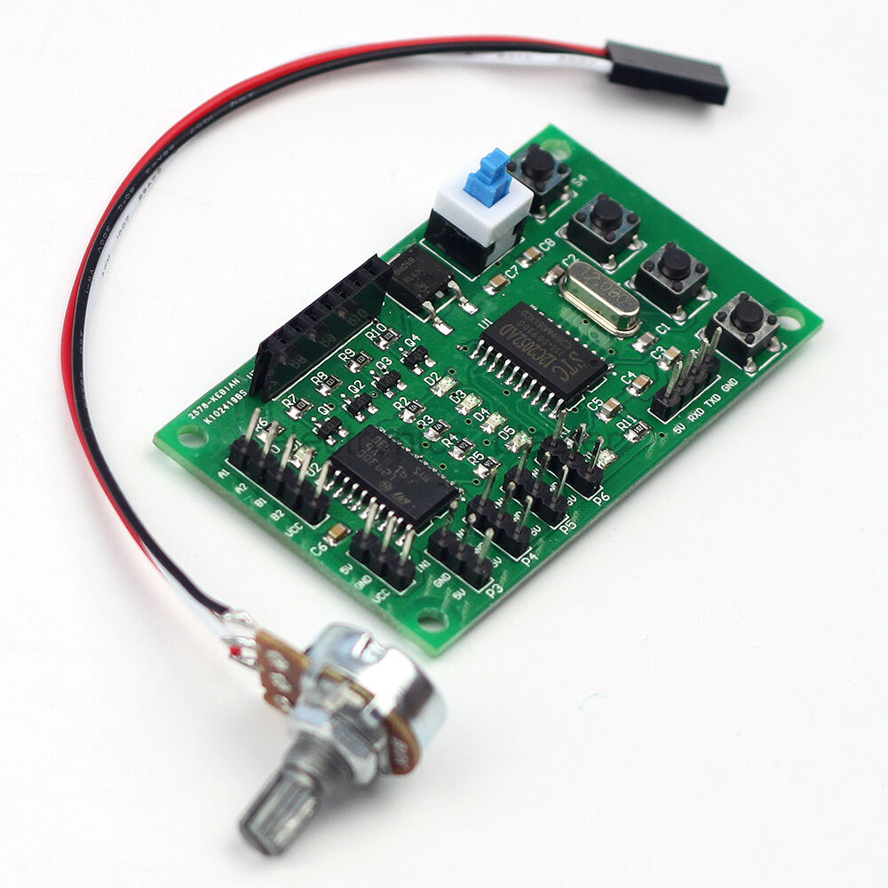 Stepper motor driver control board 2 phase 4 wire 4 phase for 3 phase stepper motor