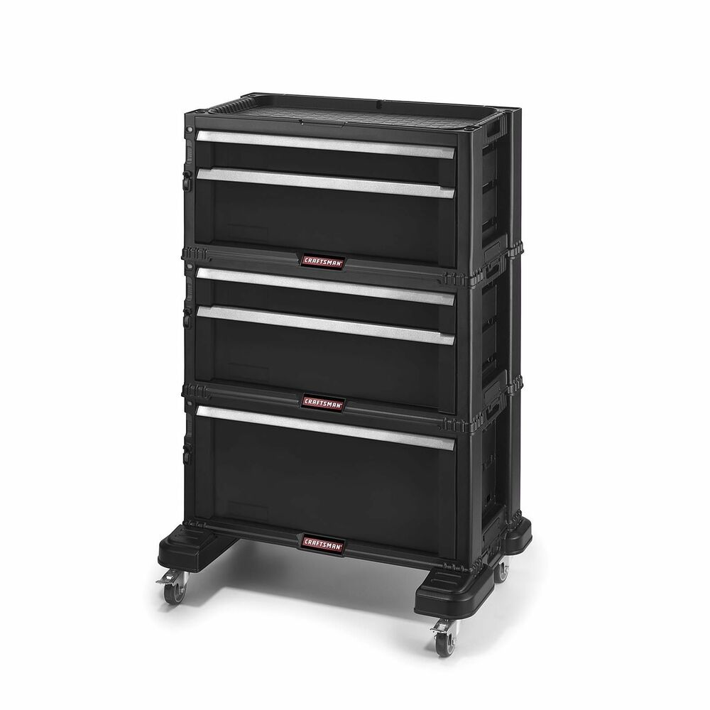 Craftsman Tool Chest 5 Drawer Rolling Mobile Tool Box