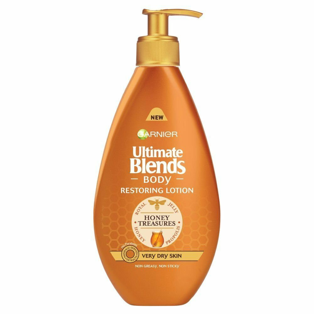 Garnier Body Ultimate Blends Restoring Lotion 400ml Ebay Biore Extra Rich Nourish 200ml